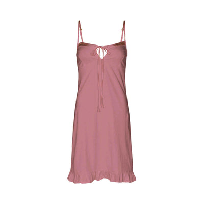 Marion organic cotton slip in dusty pink