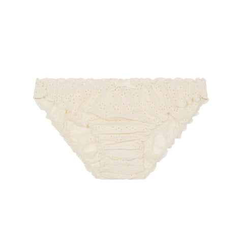 Georgia ruffle knickers in cream
