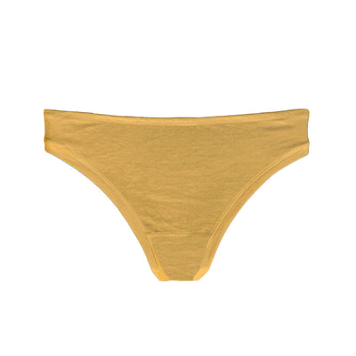 organic cotton thong in neutral colour