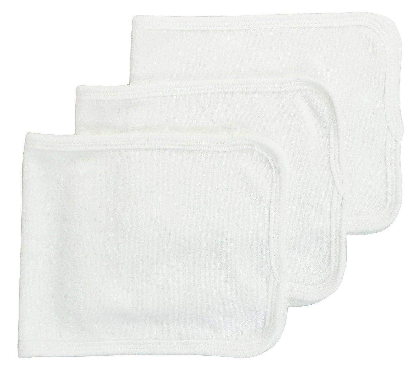 Bambini Baby Burp cloth With Trim (Pack of 3)