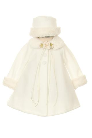 Fleece Cape Coat Baby