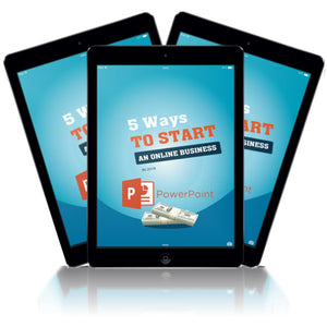 5 Ways to Start and Online home based Business - Offline