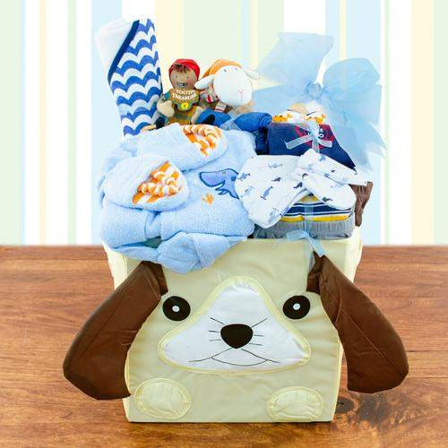 Best wishes baby boy gift baskets - Mommies Best Mall