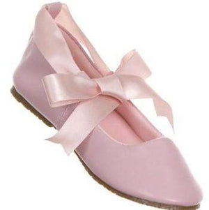 Shoes w/ Ribbon Tie