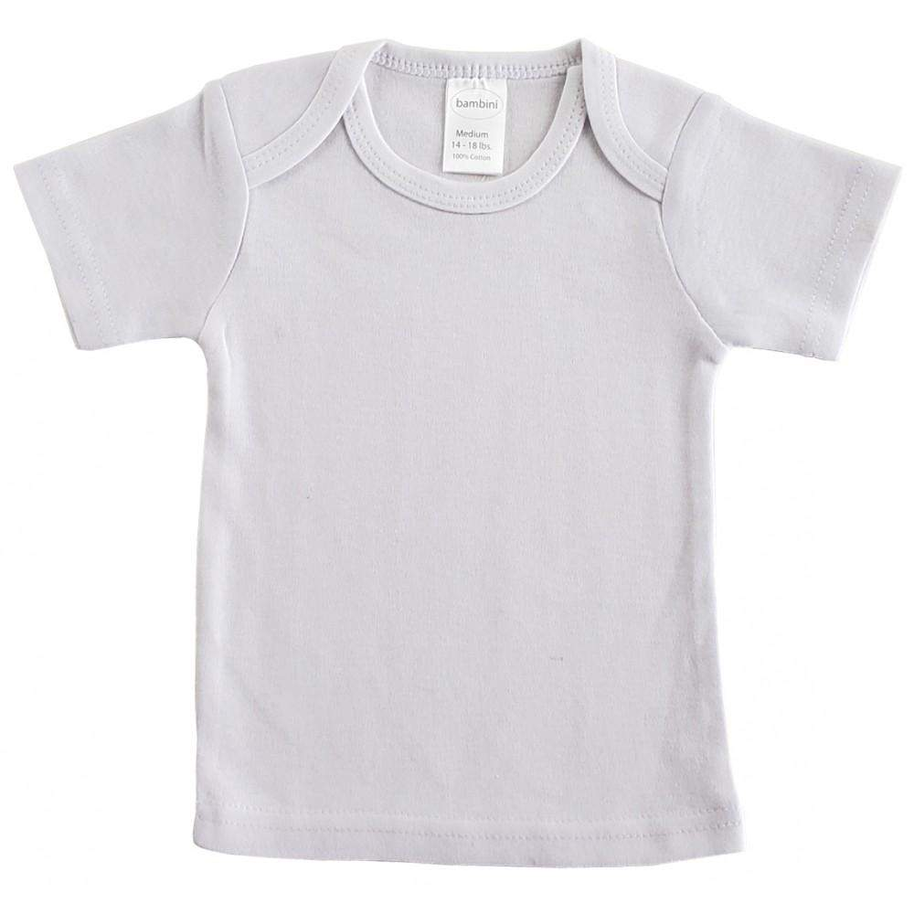Bambini Interlock Short Sleeve T-Shirt (NB,S,M,L)