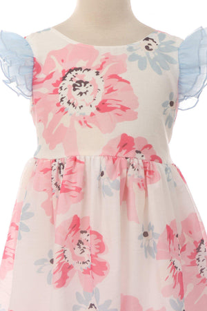 Ruffle Floral Dress