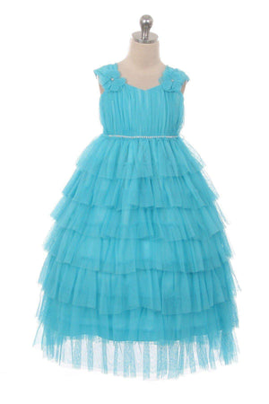 Layered Mesh baby & Girl Dress