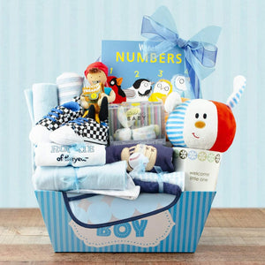 Mommies Best Mall | Baby Boy Gift Basket