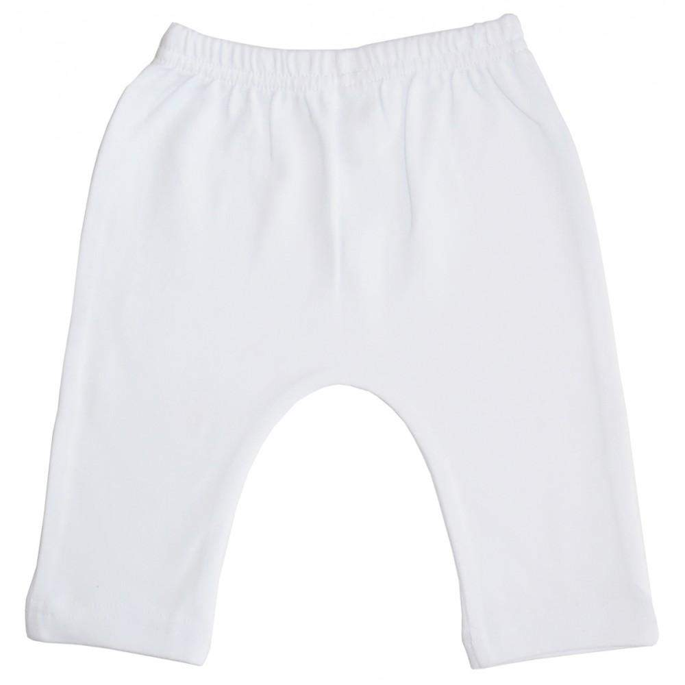 Interlock White Long Pants (NB,S,M,L)