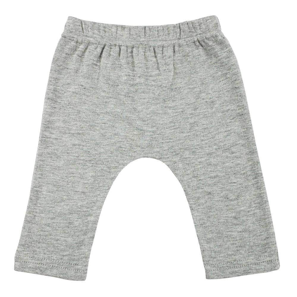 Interlock Heather Grey Long Pants(NB,S,M,L)