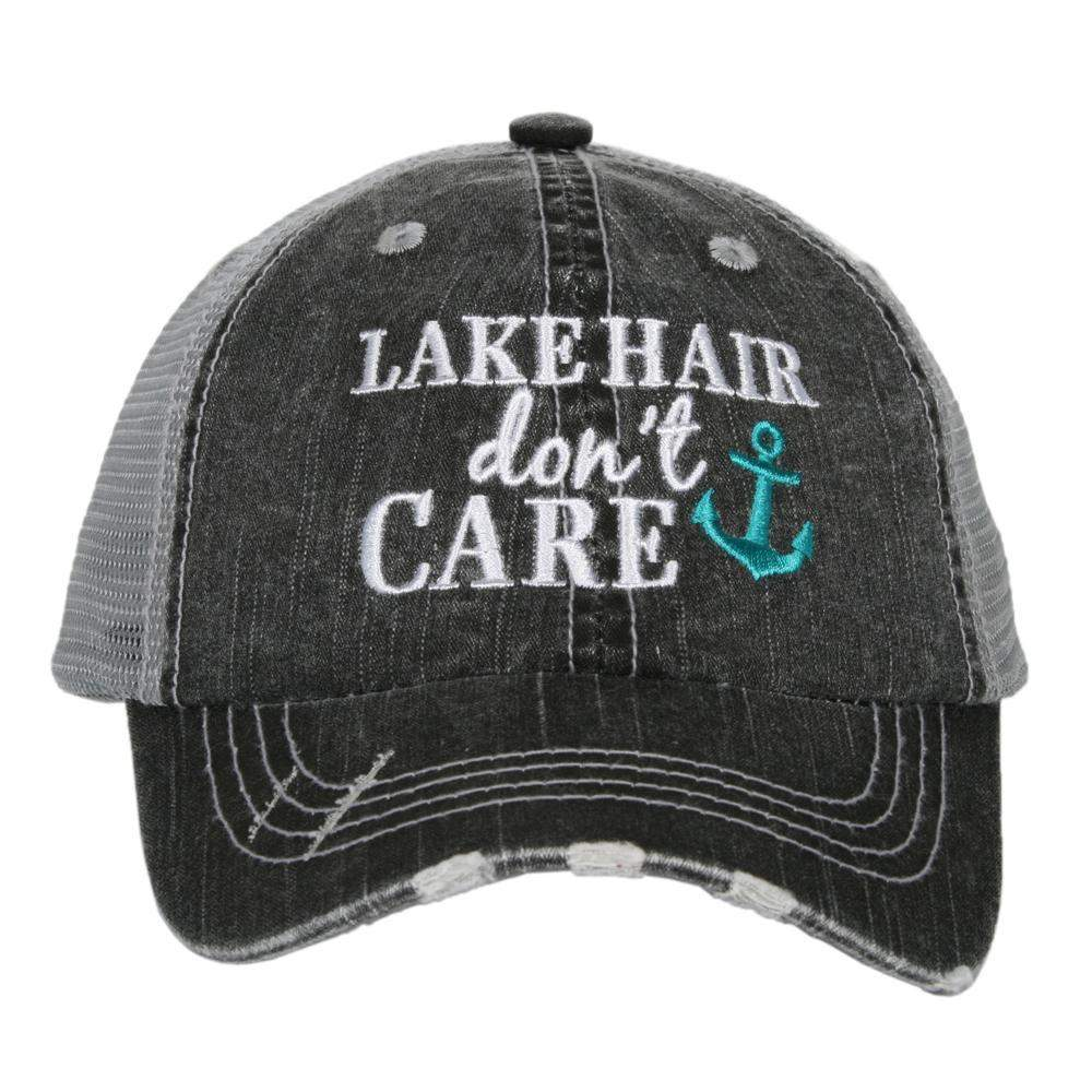 Lake Hair Don't Care KIDS Hats