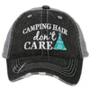 Camping Hair Don't Care KIDS Hats
