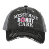 Messy Hair Donut Care KIDS Hats