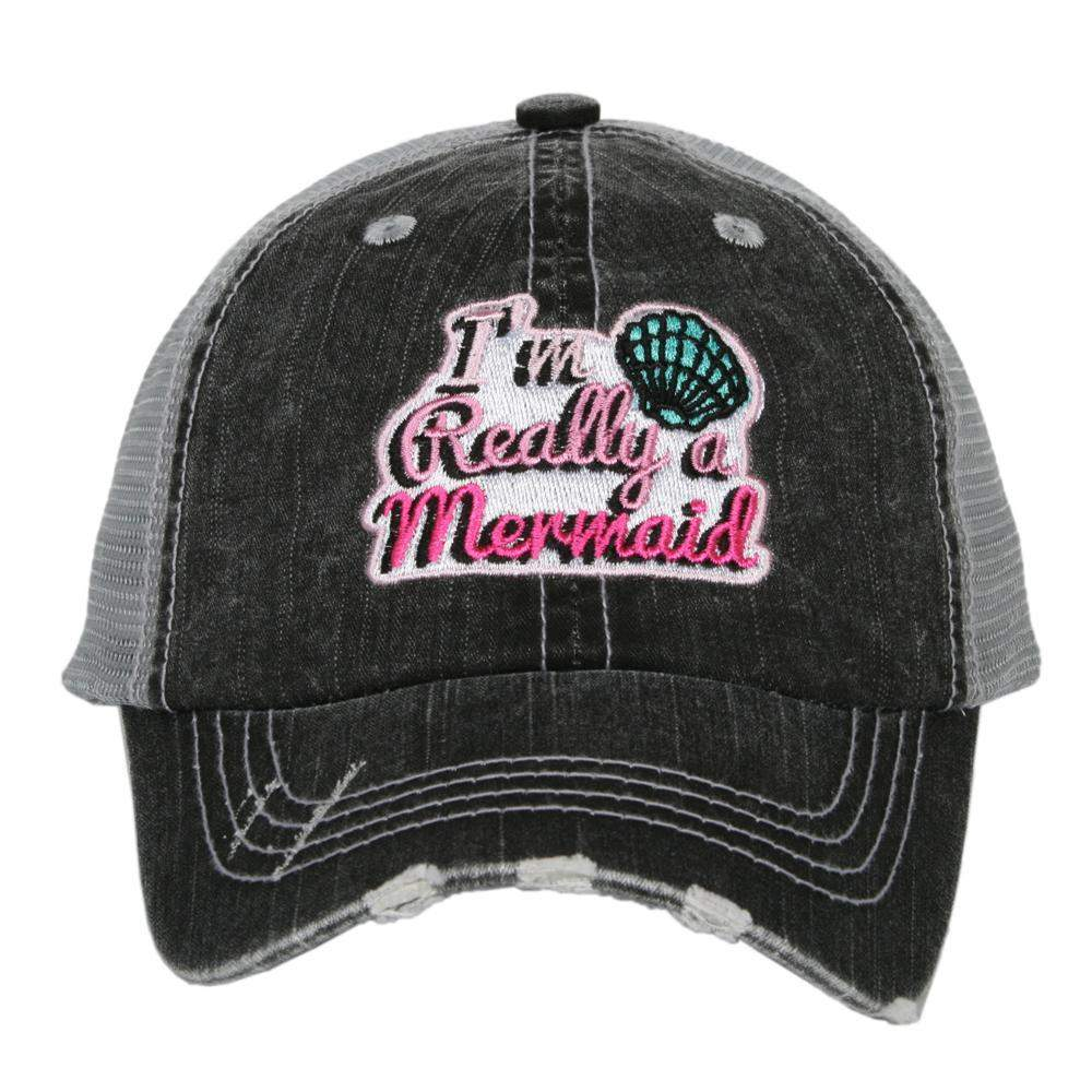 I'm Really A Mermaid KIDS Hats