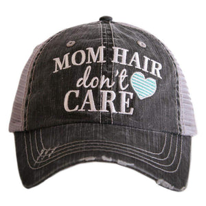 Mom Hair Don't Care Trucker Hats
