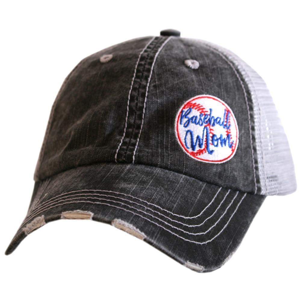 Baseball Mom Trucker Hats (Side Patch)