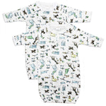 Print Infant Gowns (Pack of 2)