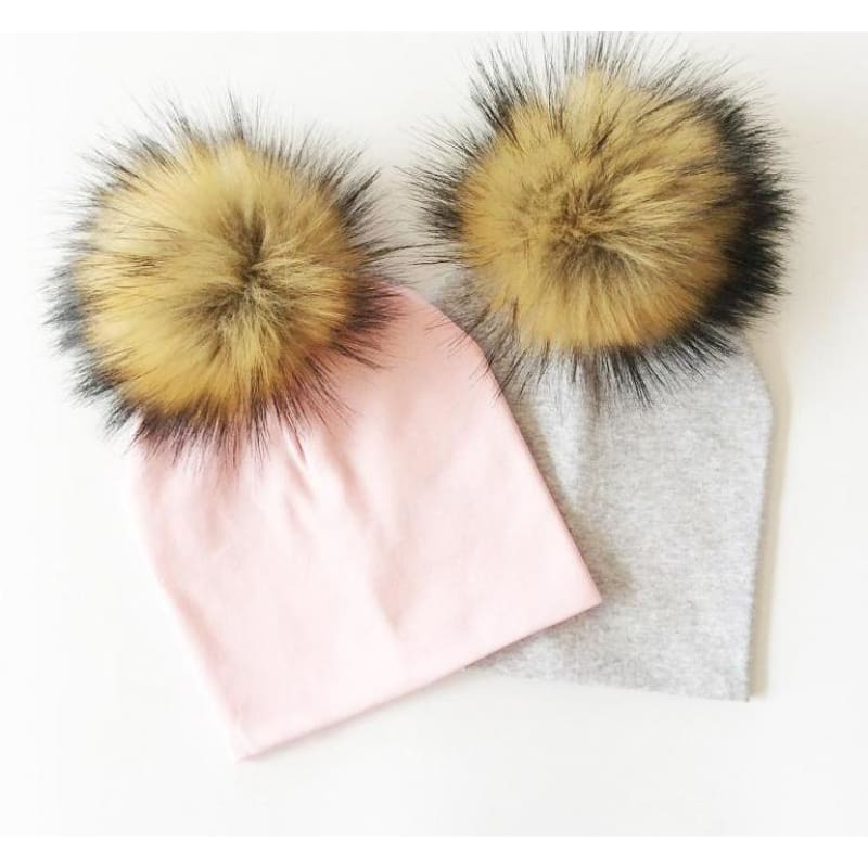 Faux Fur Baby Hat - Mommies Best Mall