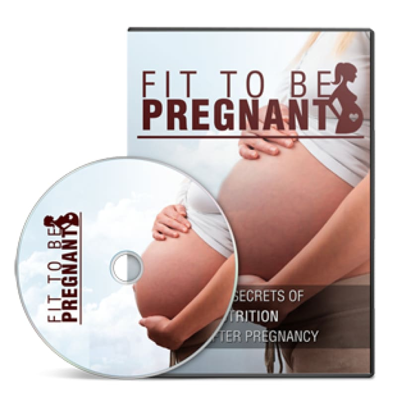 Fit to Be Pregnant Ebook OTO - Audio - Mommies Best Mall