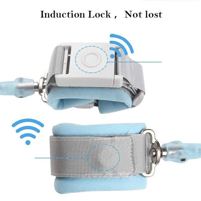 Anti Lost Wrist Band With Magnetic Induction Lock - Mommies Best Mall