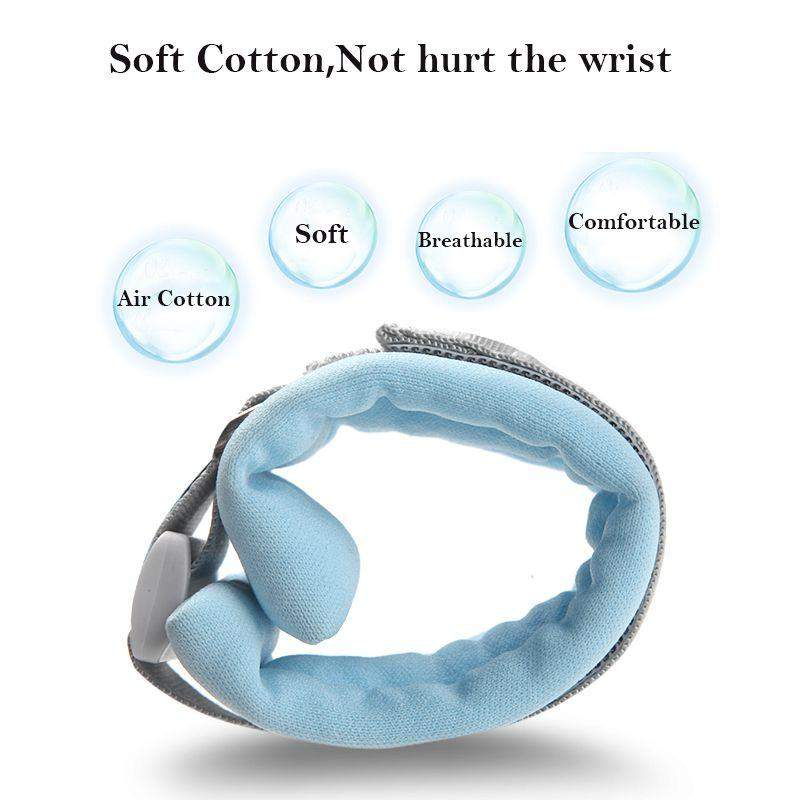 Anti Lost Wrist Band With Magnetic Induction Lock Toddler Harness - Mommies Best Mall