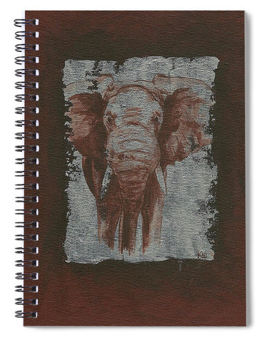 Elephant - Spiral Notebook