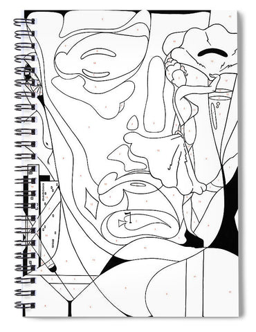 Paint By Number Las Vegas - Spiral Notebook