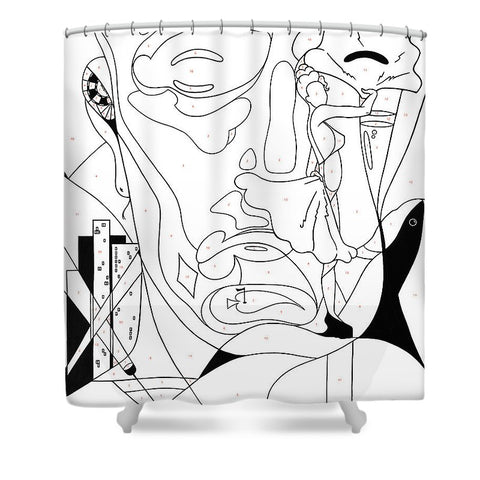 Paint By Number Las Vegas - Shower Curtain