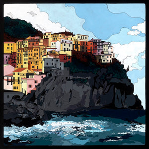 Manarola - with Hidden Pictures