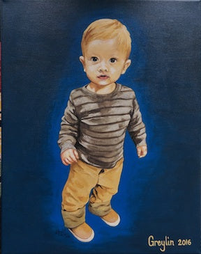 "11""x14"" Custom Portrait"