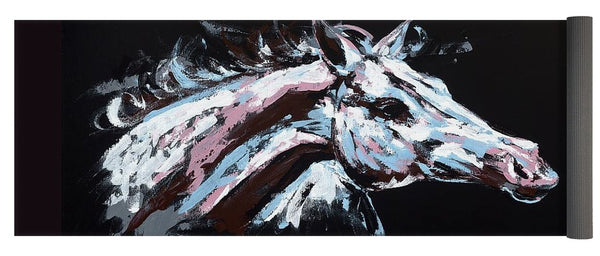 Abstract Horse - Yoga Mat