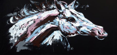 Abstract Horse - Art Print