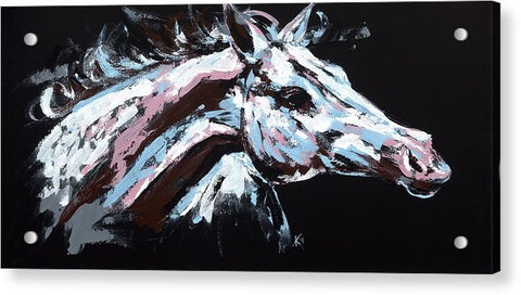 Abstract Horse - Acrylic Print