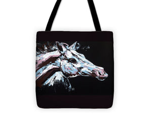 Abstract Horse - Tote Bag