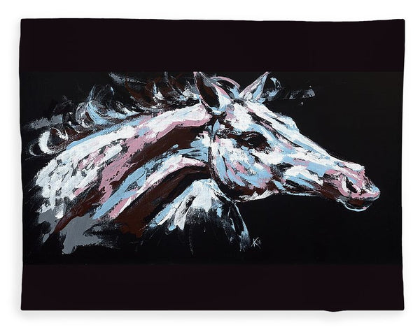 Abstract Horse - Blanket