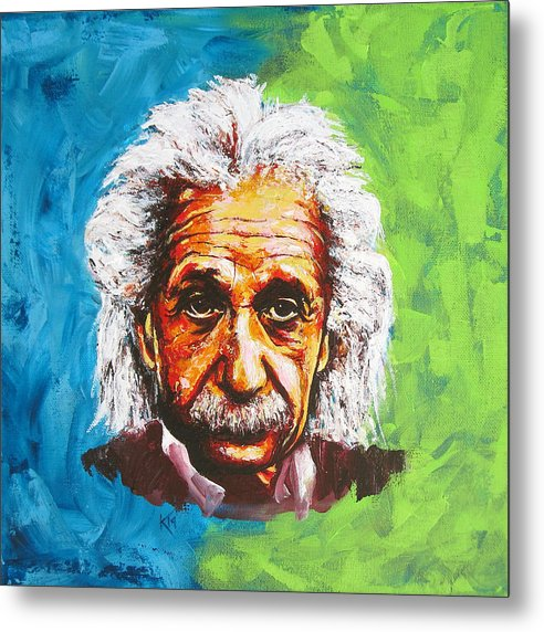 Albert Tribute - Metal Print