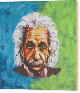 Albert Tribute - Wood Print