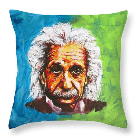 Albert Tribute - Throw Pillow