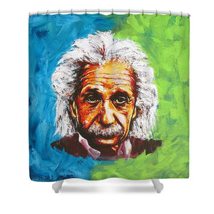 Albert Tribute - Shower Curtain
