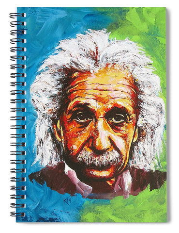 Albert Tribute - Spiral Notebook