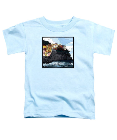 Manarola W/hidden Pictures - Toddler T-Shirt