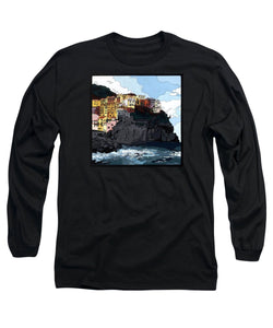Manarola W/hidden Pictures - Long Sleeve T-Shirt