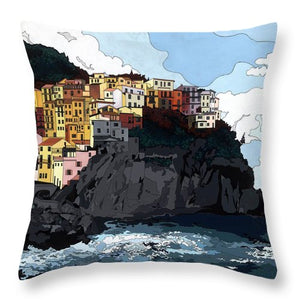 Manarola W/hidden Pictures - Throw Pillow
