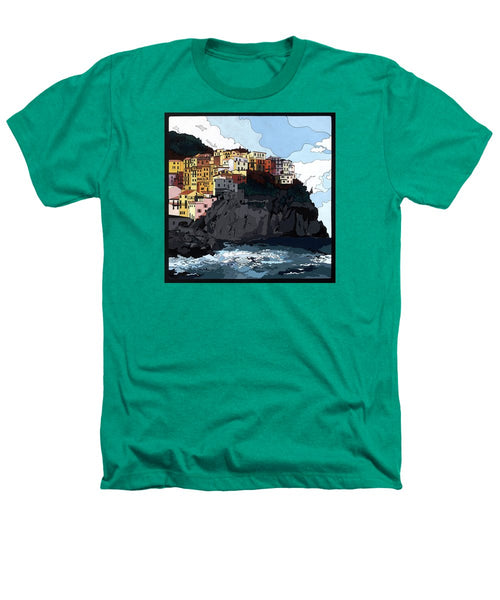 Manarola W/hidden Pictures - Heathers T-Shirt