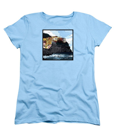 Manarola W/hidden Pictures - Women's T-Shirt (Standard Fit)