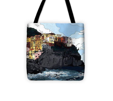 Manarola W/hidden Pictures - Tote Bag
