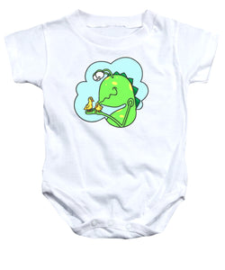 Monster Kissing Ducklings - Baby Onesie