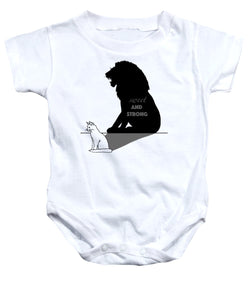 Sweet And Strong - Cat - Baby Onesie