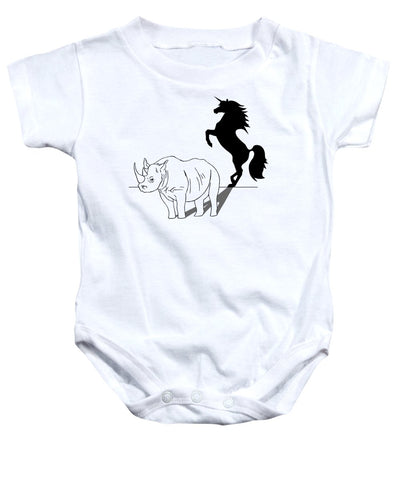Beauty On The Inside - Baby Onesie