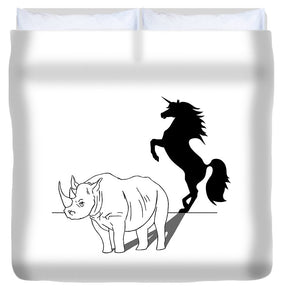 Beauty On The Inside - Duvet Cover